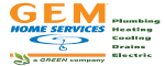 Gem Plumbing & Heating Company logo