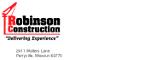 Robinson Construction logo