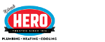 Hero Plumbing Heating Cooling logo
